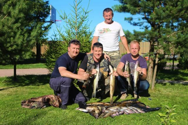ribkab рыбалка на базе Свирская