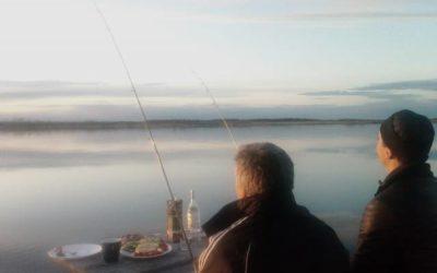 Ловля судака в Ленинградской области